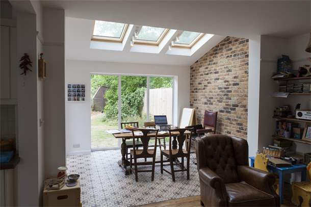 Dining Room Extension To 1930s Semi Detached House